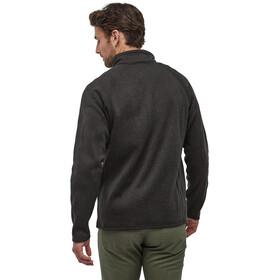Patagonia Better Sweater 1/4 Zip Men, negro